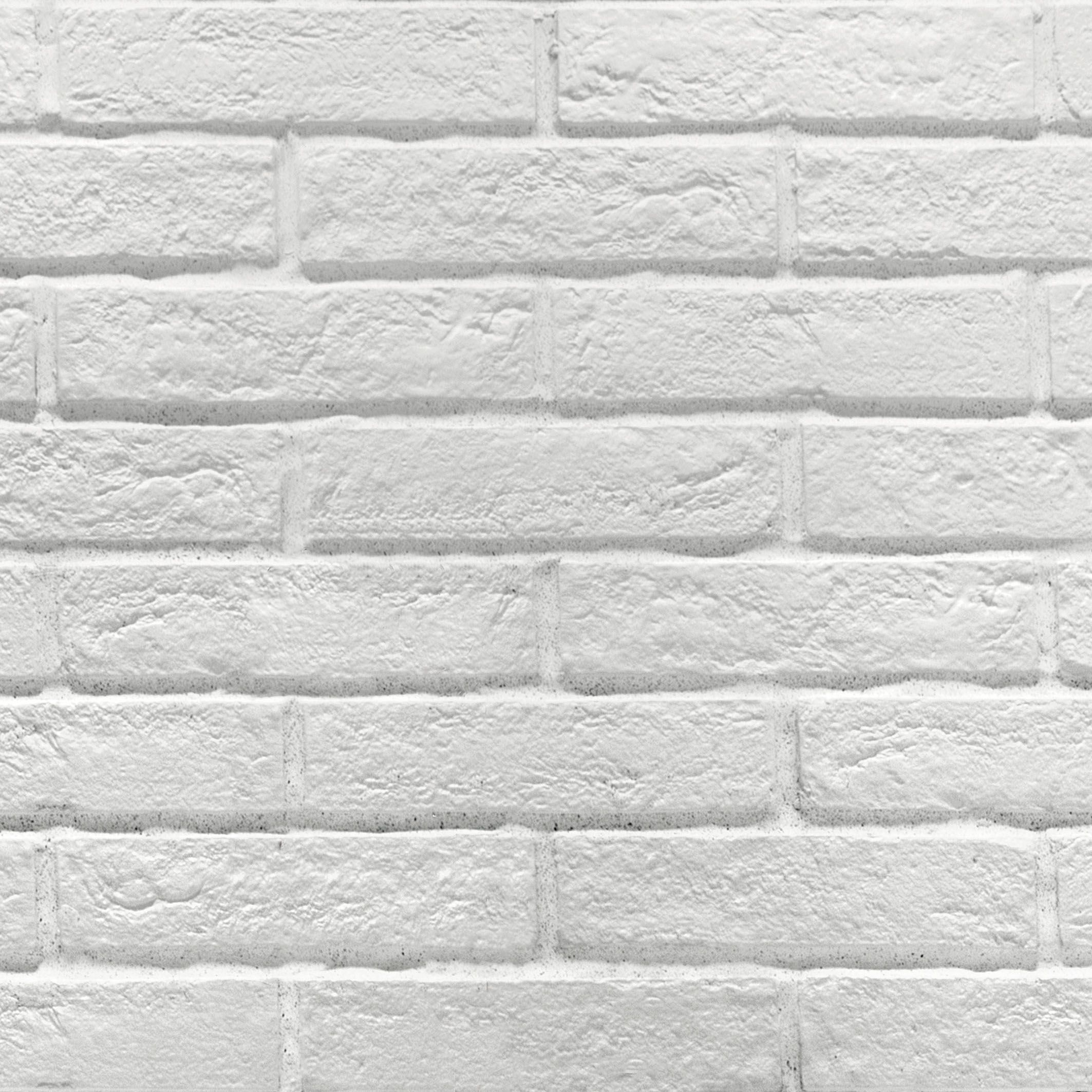 White Brick Look Tile Newy White Brick Tile 250x60mm Subway Metro Tiles