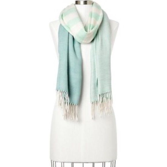 SUPER SALE Gap Cozy Scarf Gap Cozy Colorblock Stripe Scarf - aqua opal. This is literally the softest scarf I've ever felt!! It's new with tags and super cute!! I'm open to offers :) GAP Accessories Scarves & Wraps