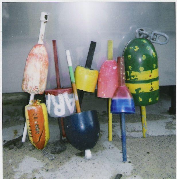 B & B Lobster Traps & Buoys - used lobster buoys    #JoesCrabShack