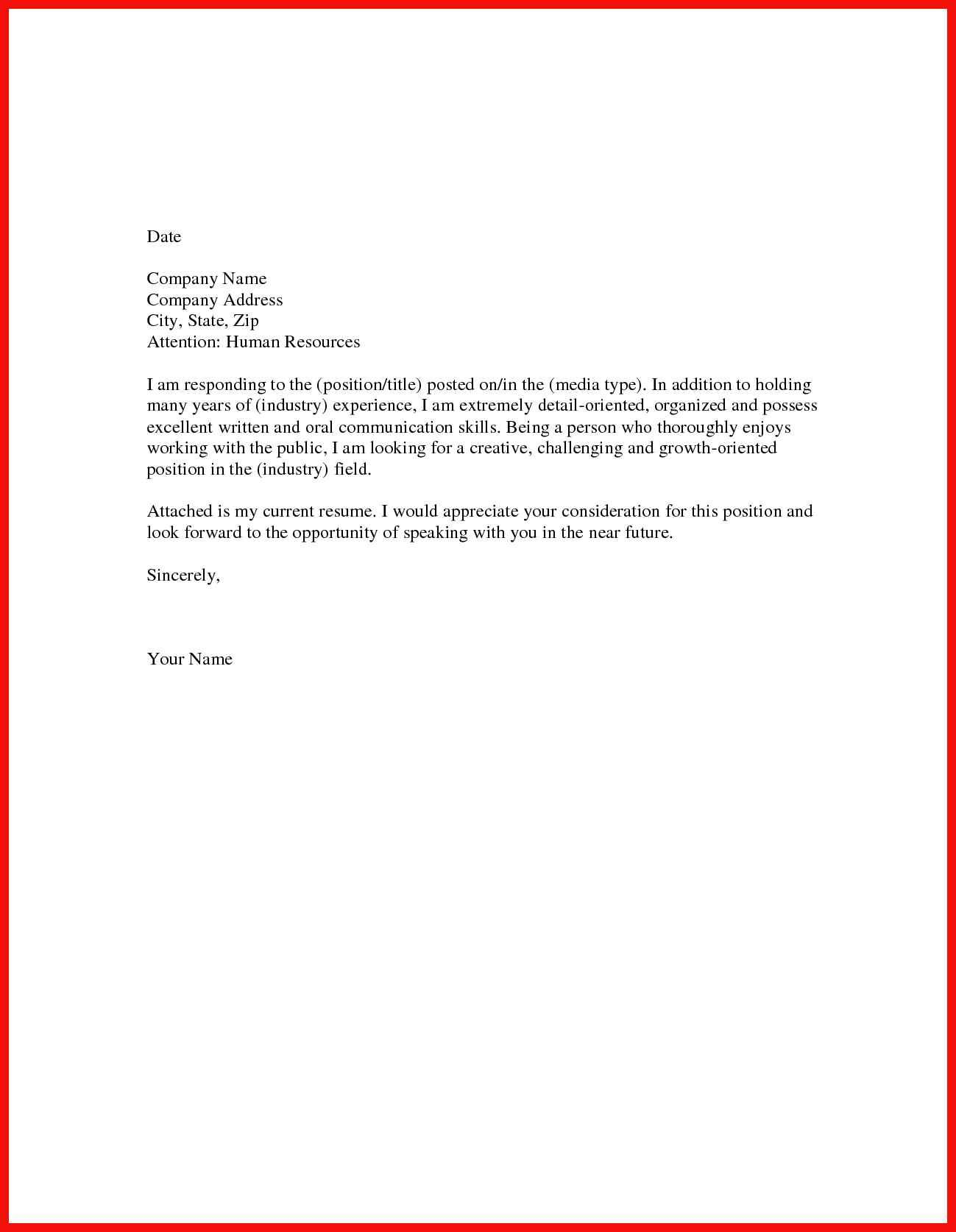 Short Covering Letter Example from i.pinimg.com