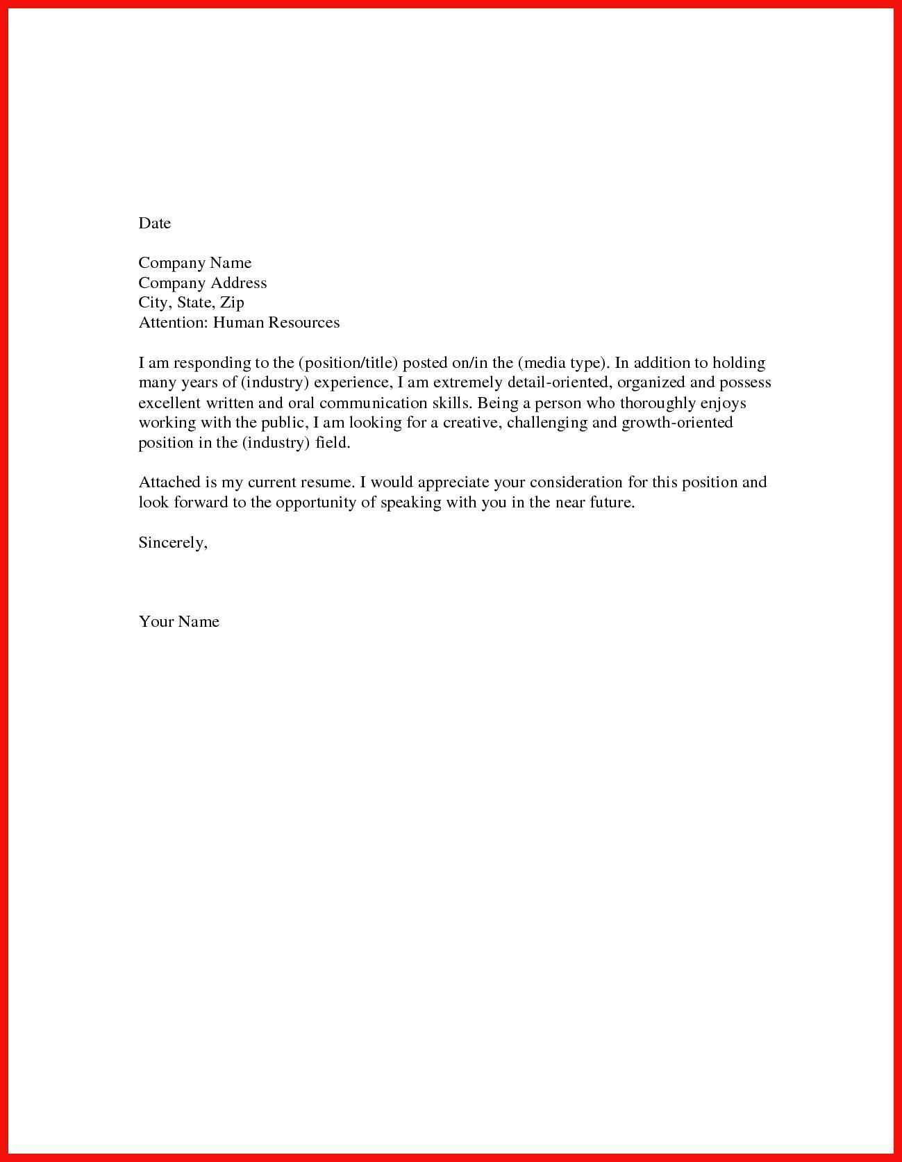 23 Short Cover Letter Examples  Short Cover Letter