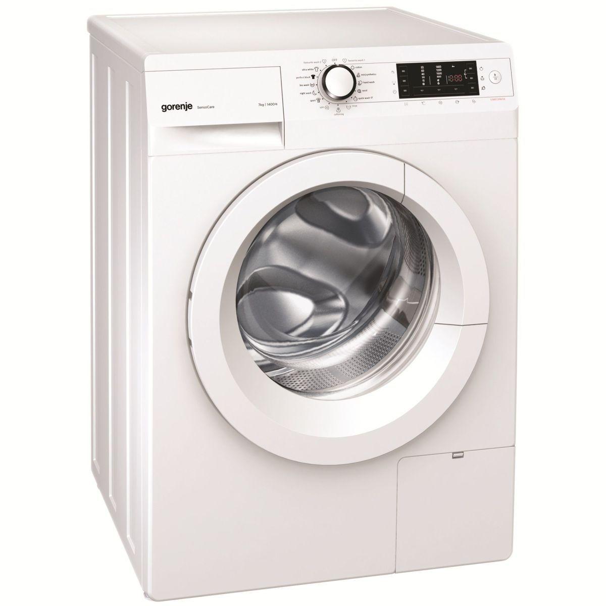 Gorenje W7543l O Mașină De Spălat Cu 1400 Rpm Gadget Review Ro Washing Machine Brands Washing Machine Reviews Front Loading Washing Machine