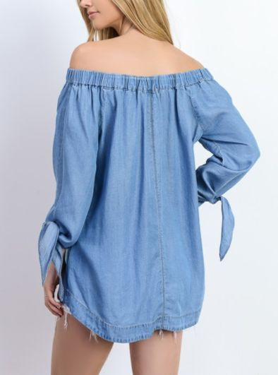 2f7333709f6a Item   00564TSTWSHLST - Light Blue Denim - Can Be Worn Off Or On The  Shoulder
