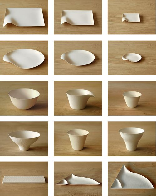 Wasara Paper Crockery Collection Made From Reed And Sugarcane Pulp.  sc 1 st  Pinterest & Wasara | Things | Pinterest | Pottery Pottery ideas and Japanese ...