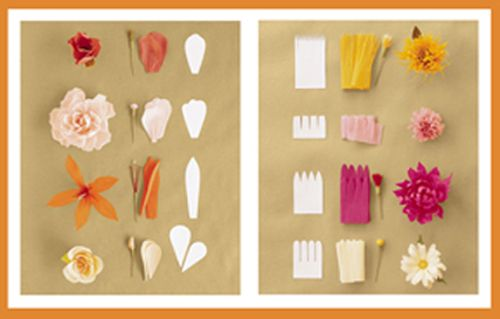 how to make paper crepe flowers choice image flower decoration ideas