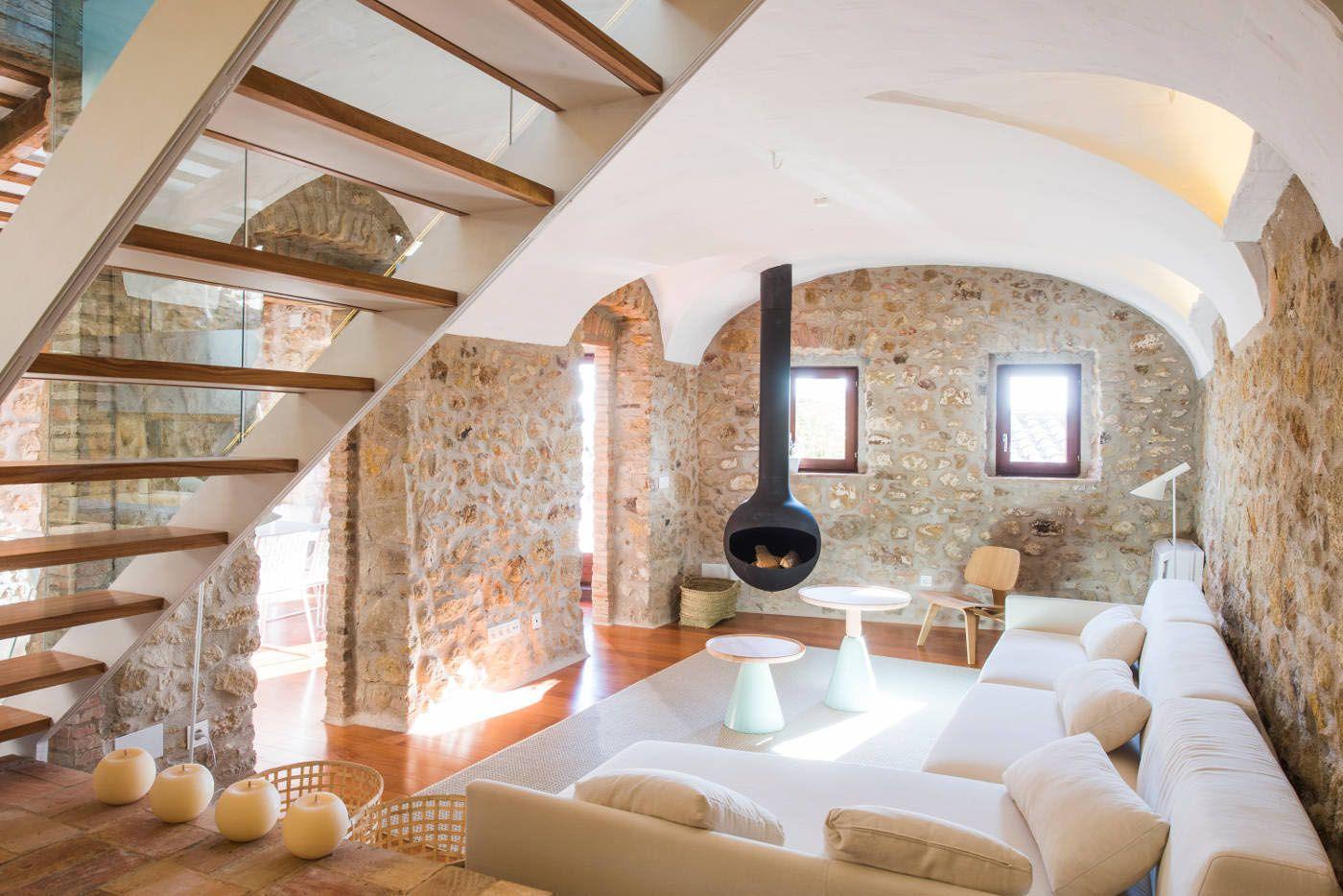 A 19th Century Stone House On The Costa Brava Transformed Into Modern Retreat