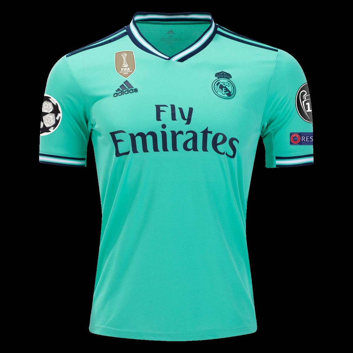 adidas Real Madrid Third Club World Cup Jersey 19/20-m | Futbol ...