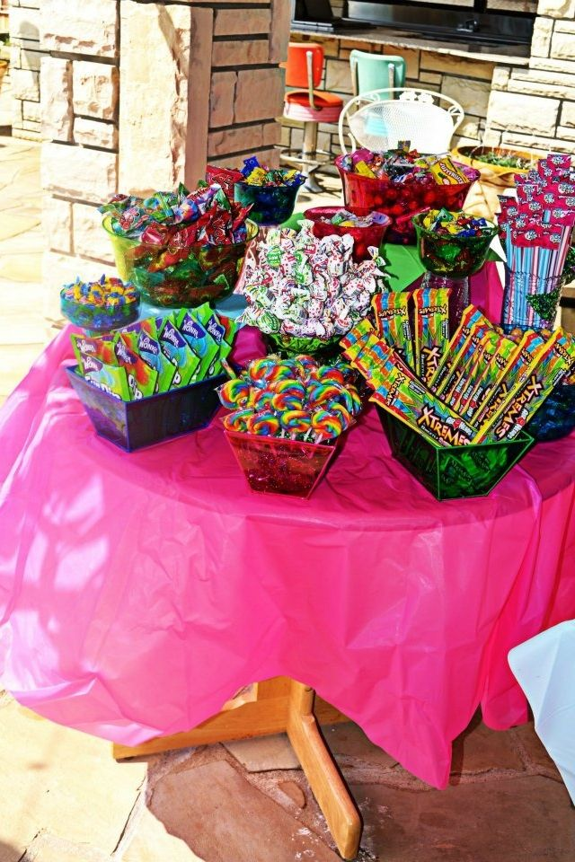 Pin By Kellie Danielle Plummer On Cakes More Sleepover Food Candy Land Birthday Party