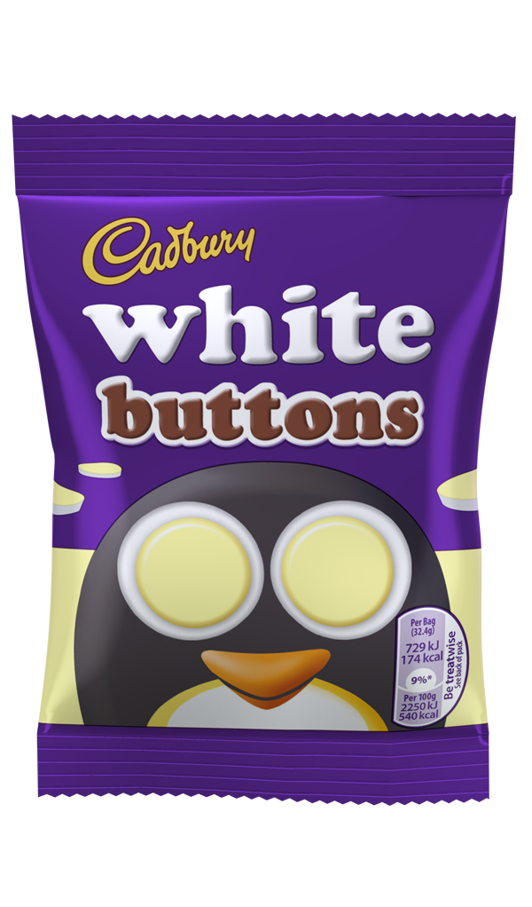 Cadbury Dairy Milk White Buttons Chocolate world