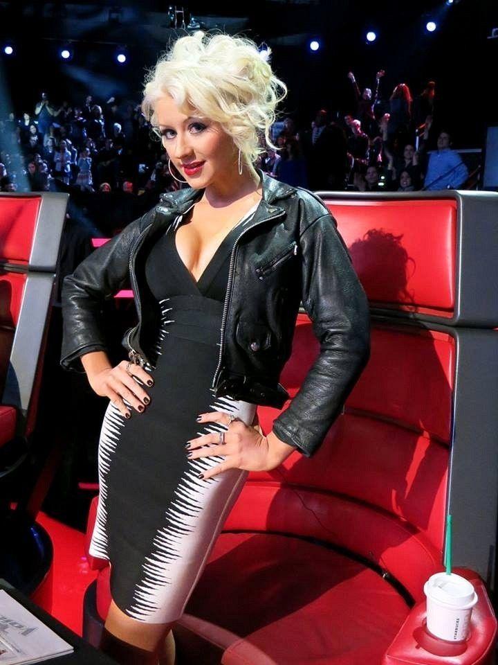 Christina Aguilera Style At The Movies Christina
