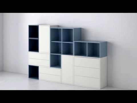EKET det fleksible reolsystem YouTube Ikea dekor