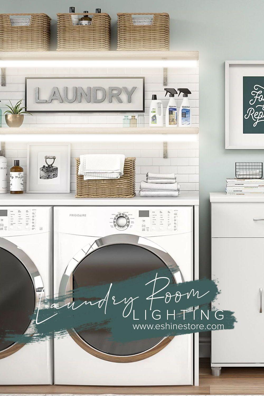 Laundry Room Lighting In 2020 Led Lighting Solutions Cute Mugs Laundry Room Lighting