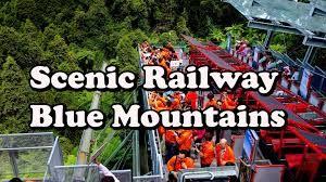 Afbeeldingsresultaat voor funicular railway blue mountains
