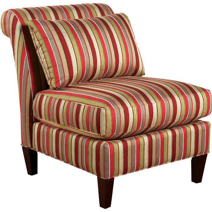 Red Accent Chairs | Cindy Crawford Home Doce Red Accent Chair