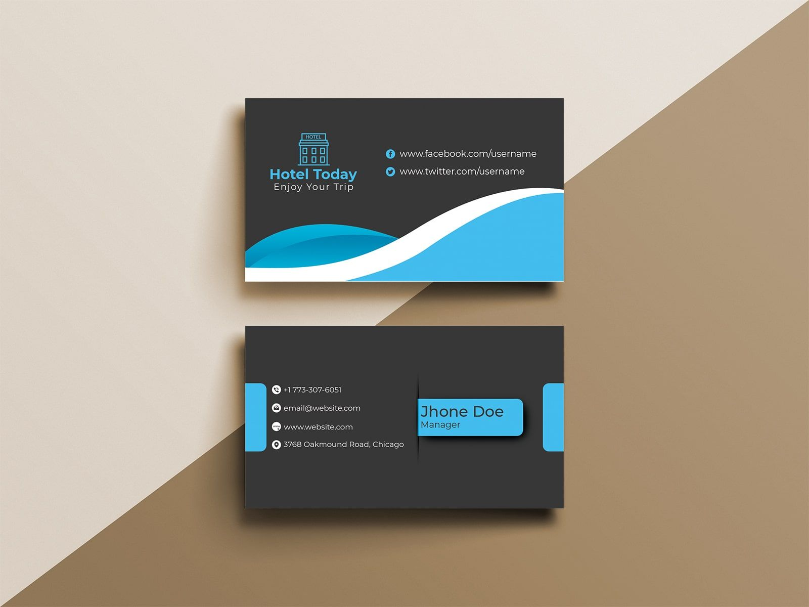 Modern Hotel Business Card Design Business Card Design Business Card Design Creative Business Cards Collection