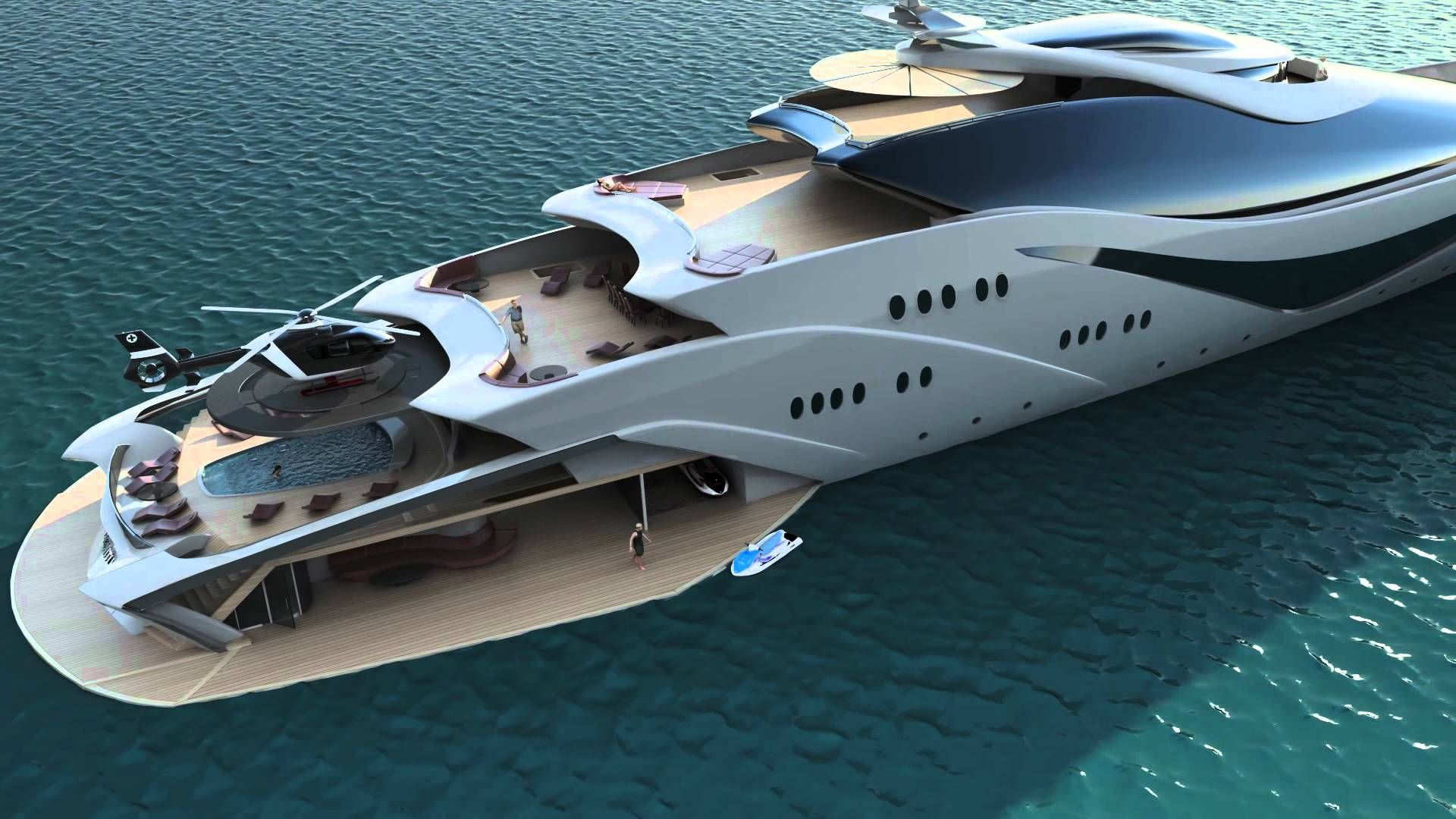 Top 10 Craziest Future Boat Designs With Images Luxury Yachts