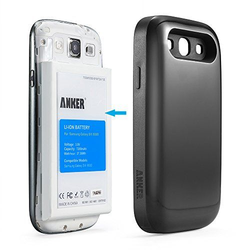 Galaxy S3 Battery, Anker 7200mAh Extended Replacement