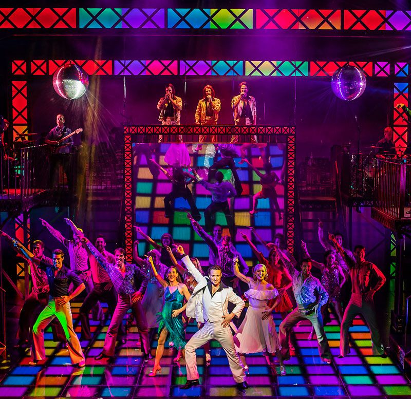 Saturday Night Fever At Mk Theatre A Review Night Fever Saturday Night Fever Night