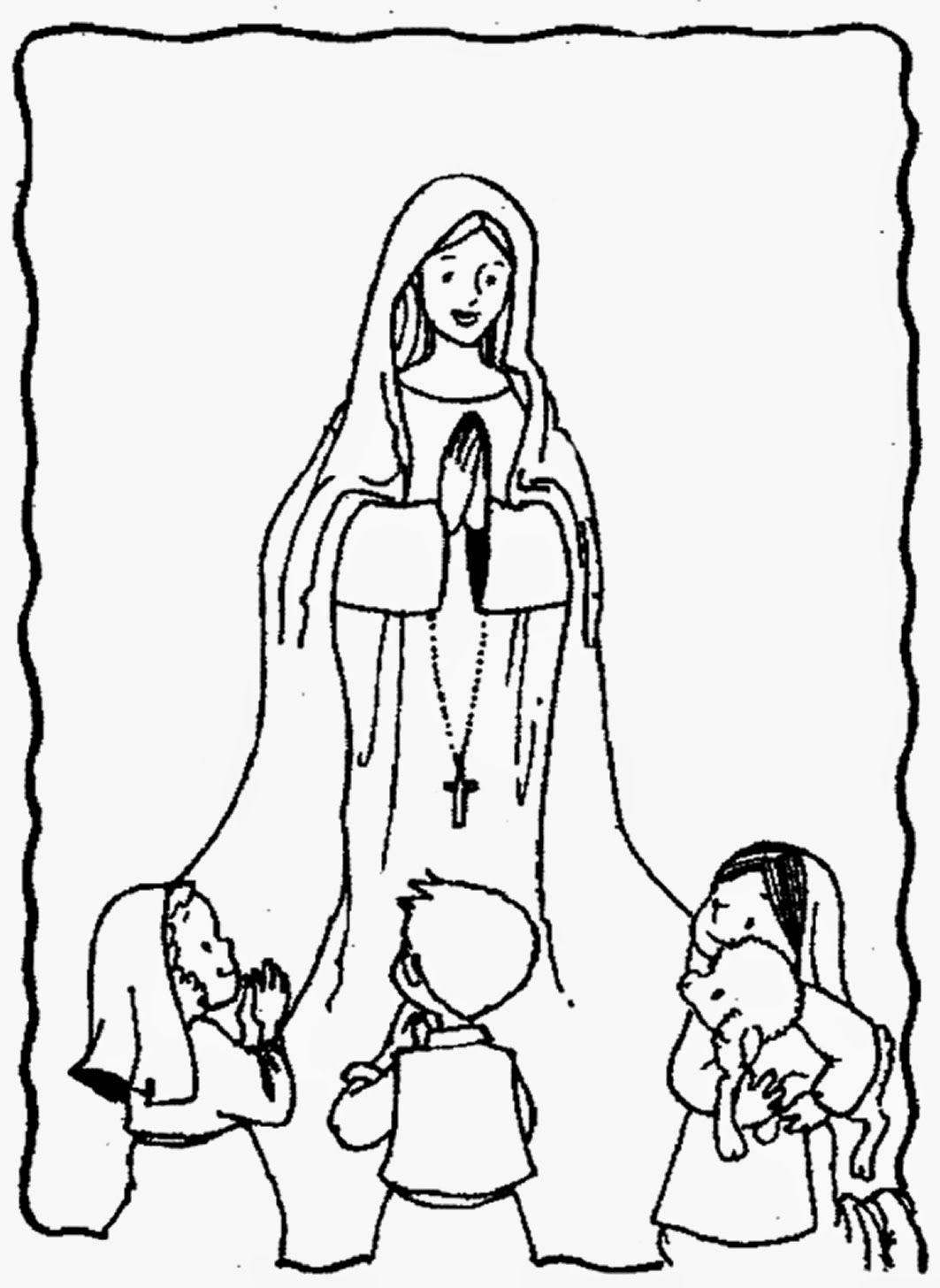 Gifs Y Fondos Pazenlatormenta Imagenes De La Virgen De Fatima