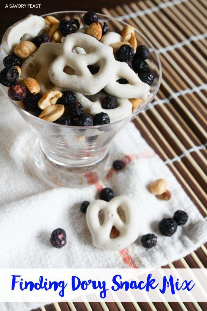 Finding Dory Snack Mix Recipe Snacks, Homemade snacks