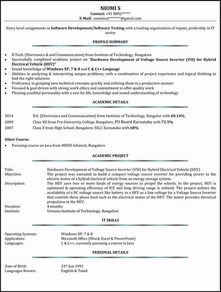 System Administrator Resume Examples Awesome System