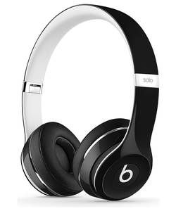 Beats Solo2 On-Ear Headphones Luxe Edition - Black.