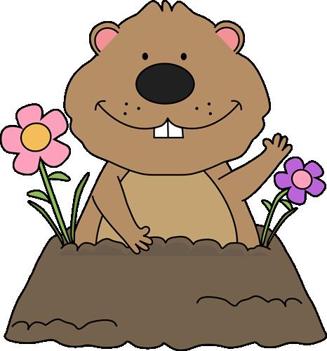 Free groundhog clipart spring groundhog clip art groundhog with free groundhog clipart spring groundhog clip art groundhog with spring flowers around its mightylinksfo