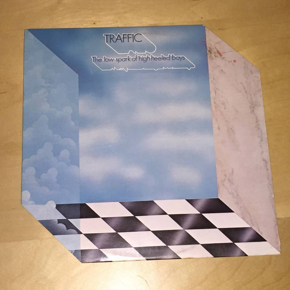 Traffic The Low Spark Of High Heeled Boys 33 rpm Record LP