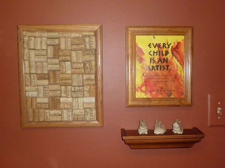 Letterlady's Letters - lettering on child's art.