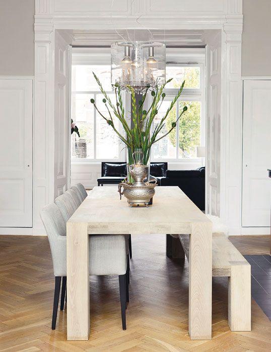 Klassiek & modern gecombineerd in een interieur - Classic Interior ...