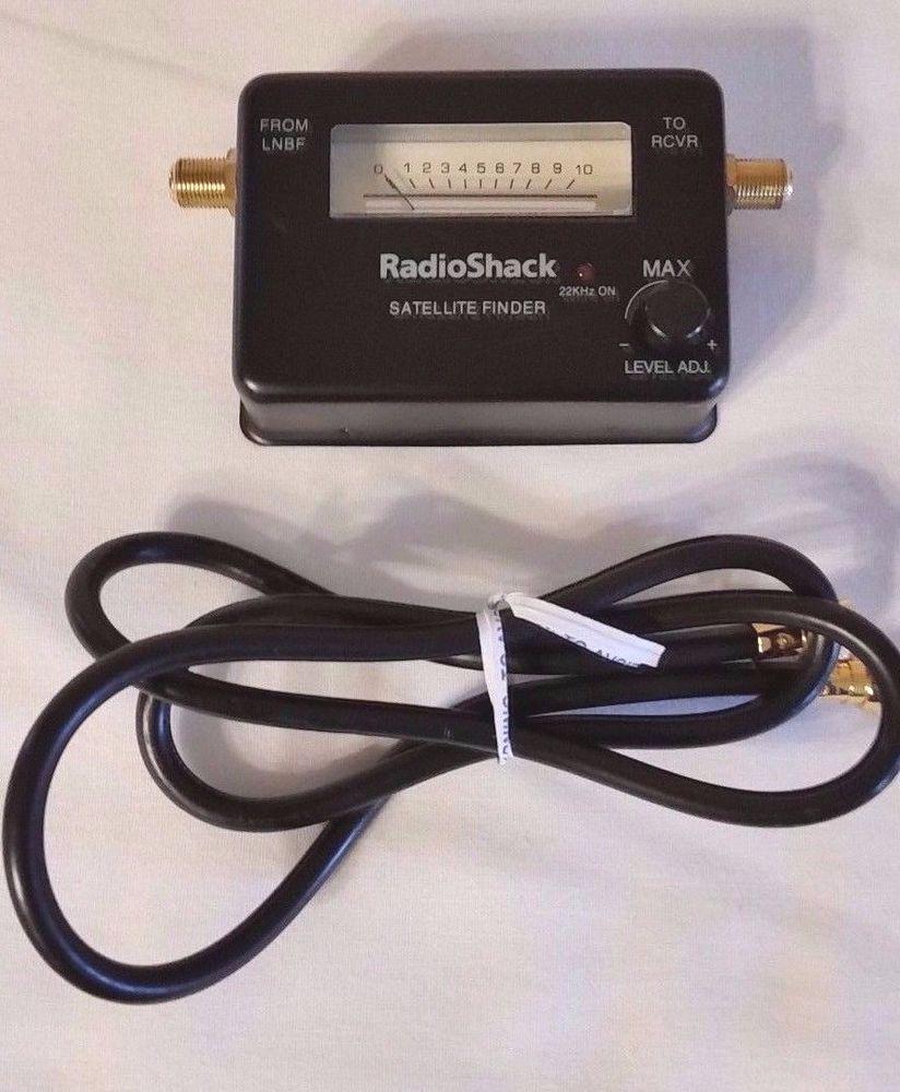 RADIOSHACK SATELLITE SIGNAL FINDER 16-594 #RadioShack | Home