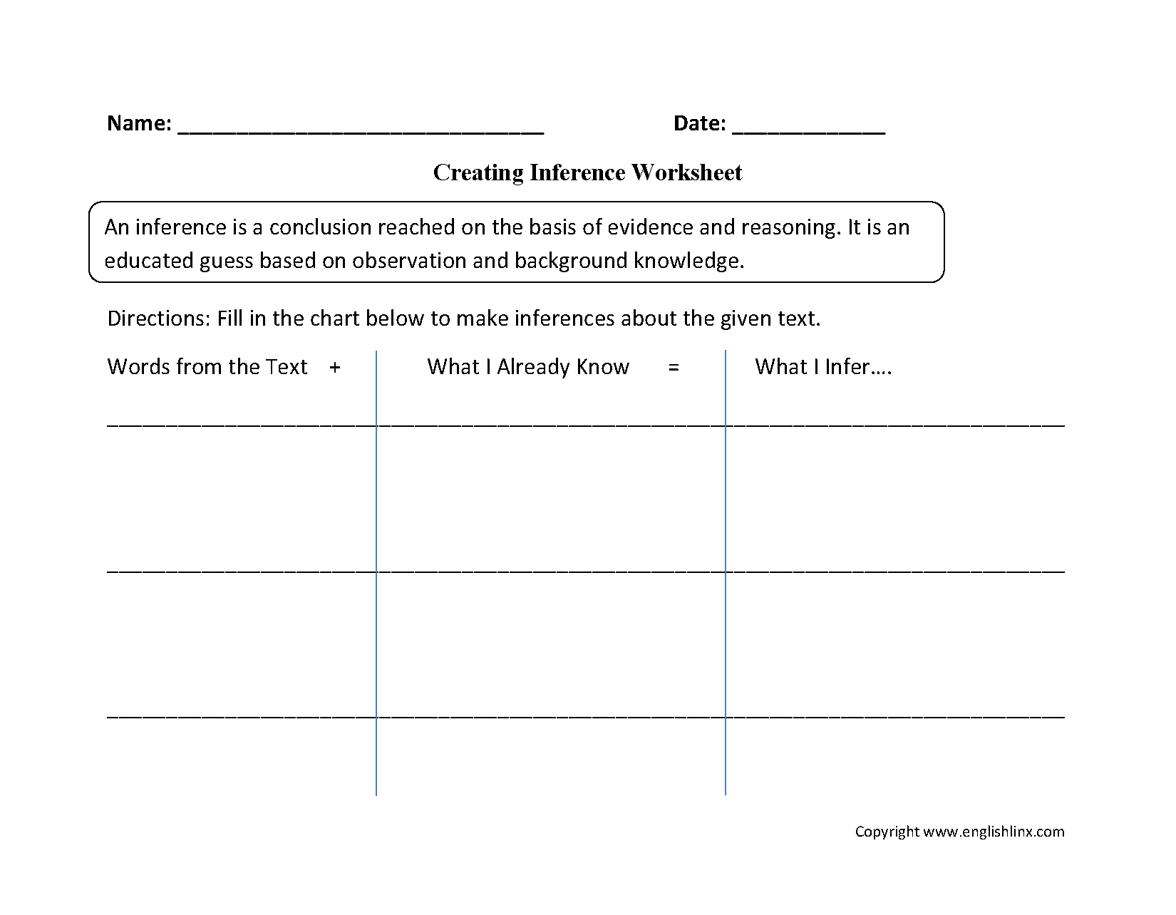 Worksheets Inferences Worksheet 2 creating inference worksheets englishlinx com board pinterest reading and worksheets
