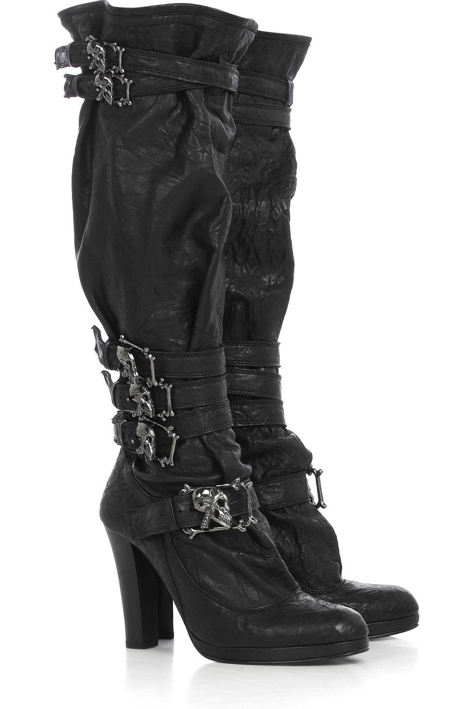 Thomas Wylde Skull Cross Knee Boots buy cheap shop visit new cheap price shop offer online high quality sale online authentic online Kpij8tAH