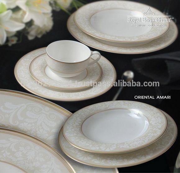 Royal Bone China Dinner Set By Royal Porcelain Thailand Oriental