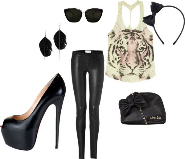 Wild Child, created by rach-1087 on Polyvore