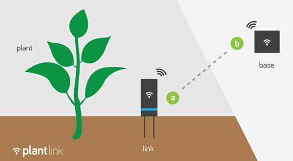 Fonctionnement capteur du0027humidité pour plante domotique au jardin - hygrometrie dans une maison