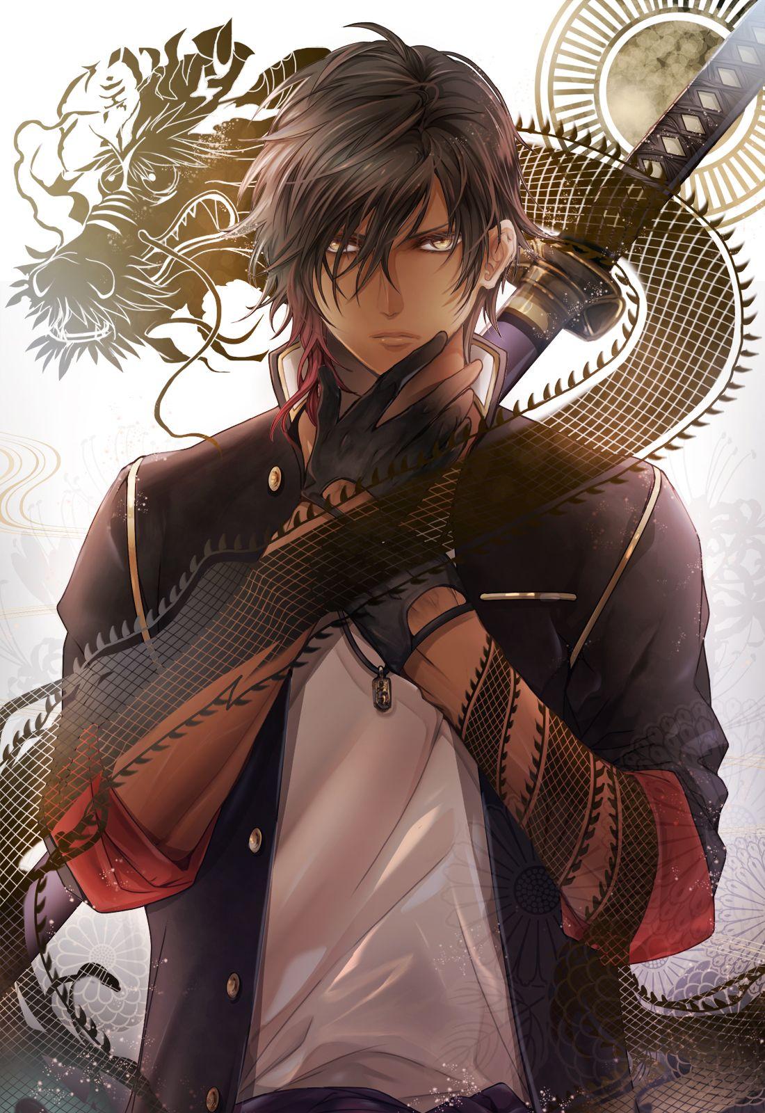 Ookurikara Touken Ranbu Mobile Wallpaper 1848404 Zerochan Anime Image Board Touken Ranbu Handsome Anime Anime Boy