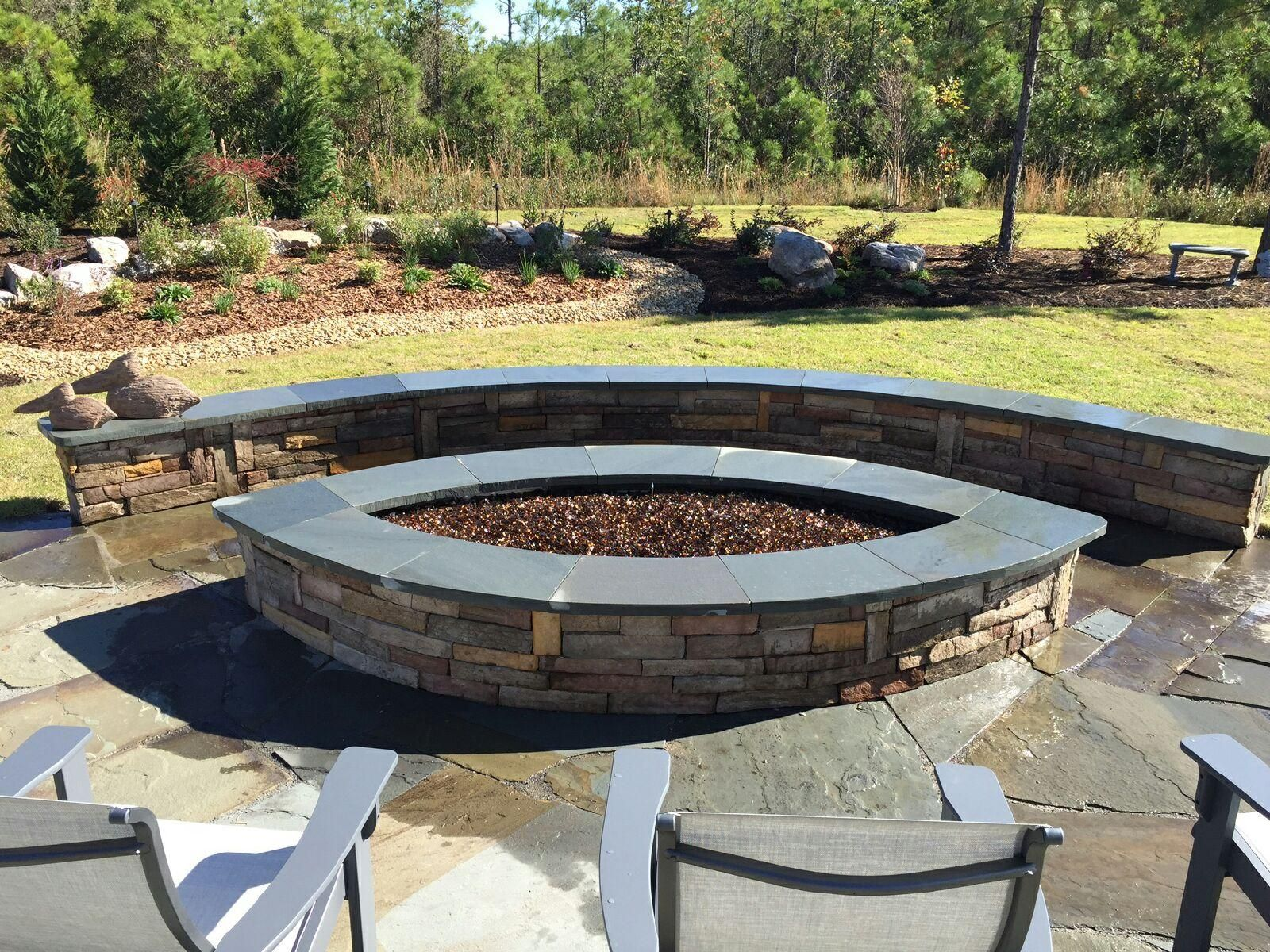 Best Colors For Fire Glass Blends With Images Fire Pit