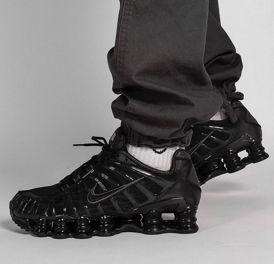 130/€145 delivered. Nike Shox TL 'Triple Black' FOR ALL ...