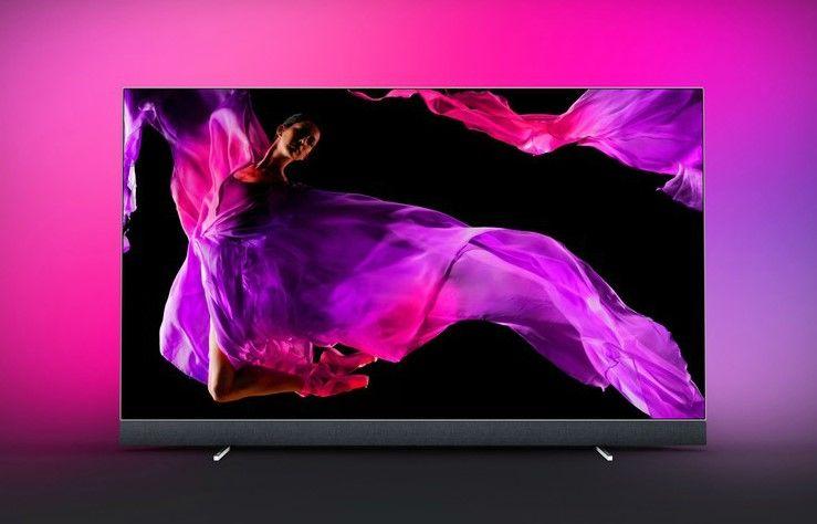 Tv Philips 55oled903 Oled Uhd 4k 139 Cm Pas Cher Televiseur Oled Fnac Televiseur Philips Systeme Audio