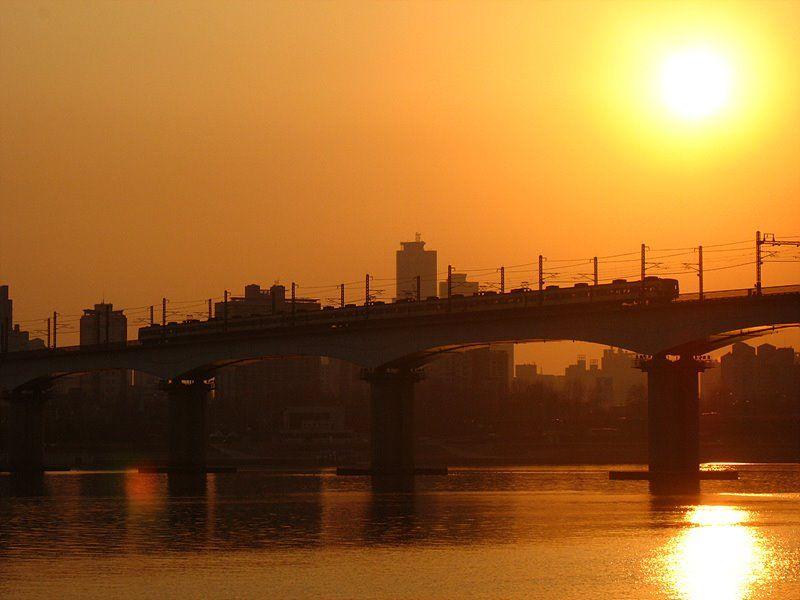 당산철교 Dangsan Railroad Bridge