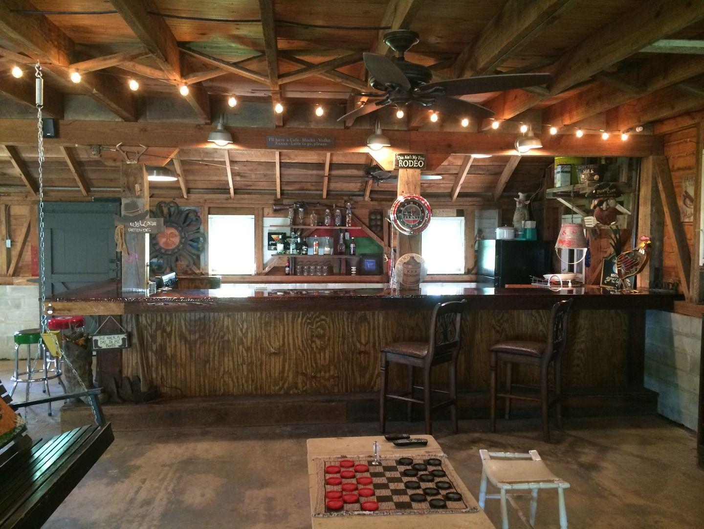 Inside The Barn At Fritz Farm Wedding Venue In Cordele Ga