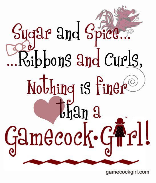 girly gamecock