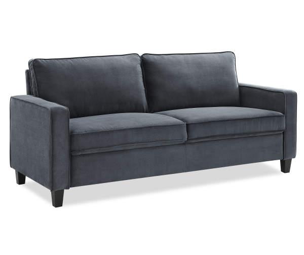 Grant Dark Gray Sofa Big Lots in 2020 Dark gray sofa