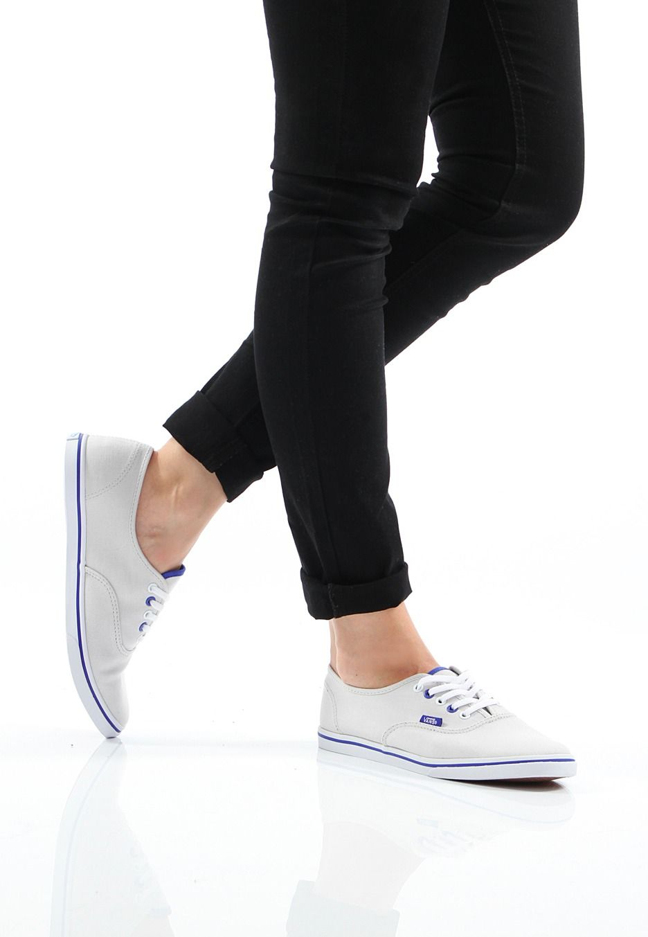 099f1f8ae1 Want em- Vans - Authentic Lo Pro Lunar Rock True White - Girl Shoes ...