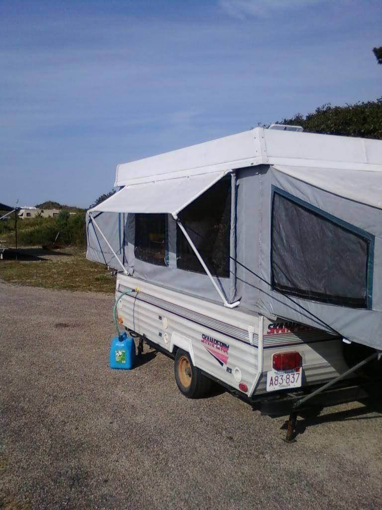 Tent End Fabrics | Hybrid camper, Pop