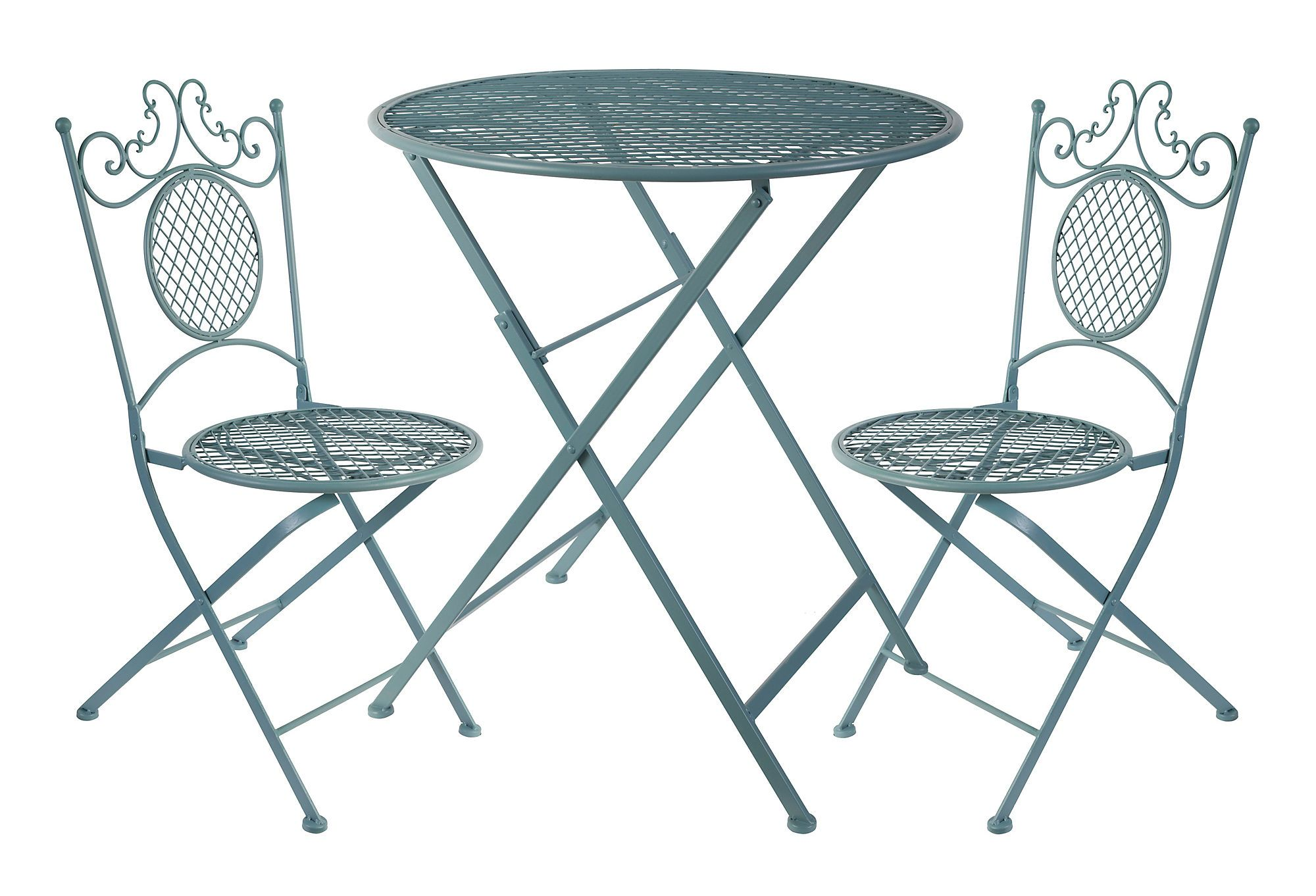 Folding Bistro Set - Lovely idea, wouldn\'t use it in my apartment ...