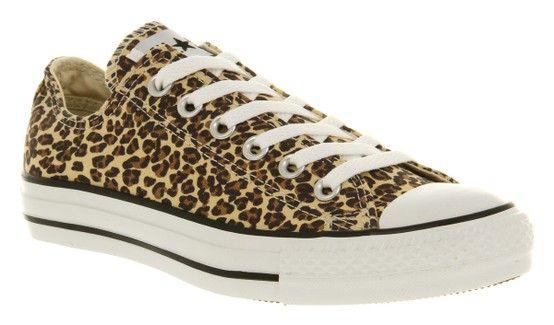 Leopard print converse!