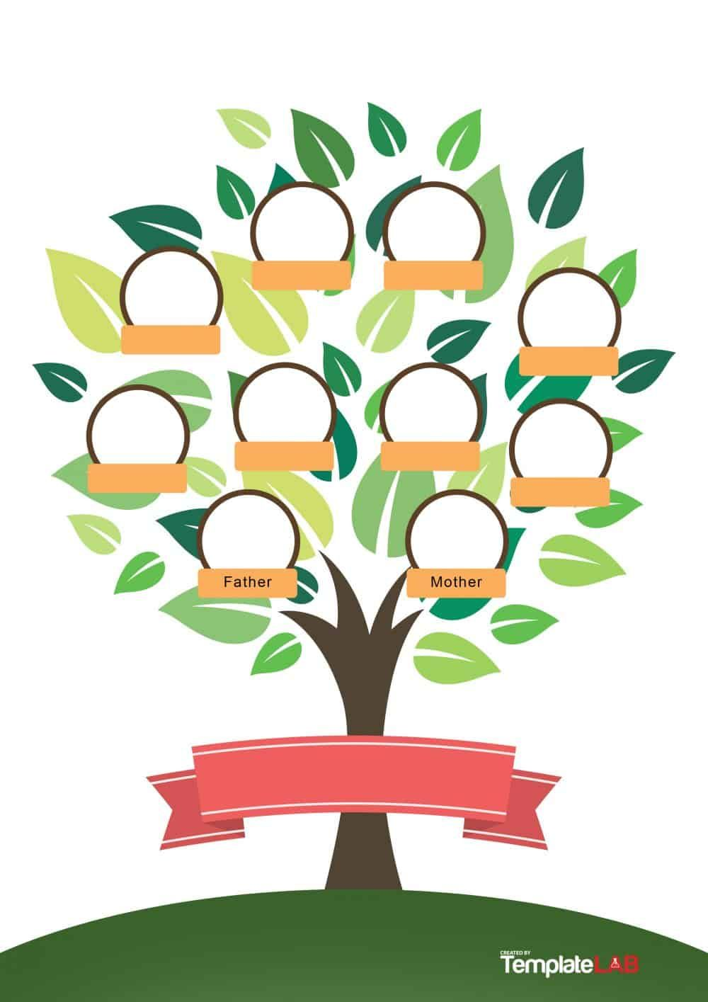 Download Family Tree Template 6 | Free family tree ...