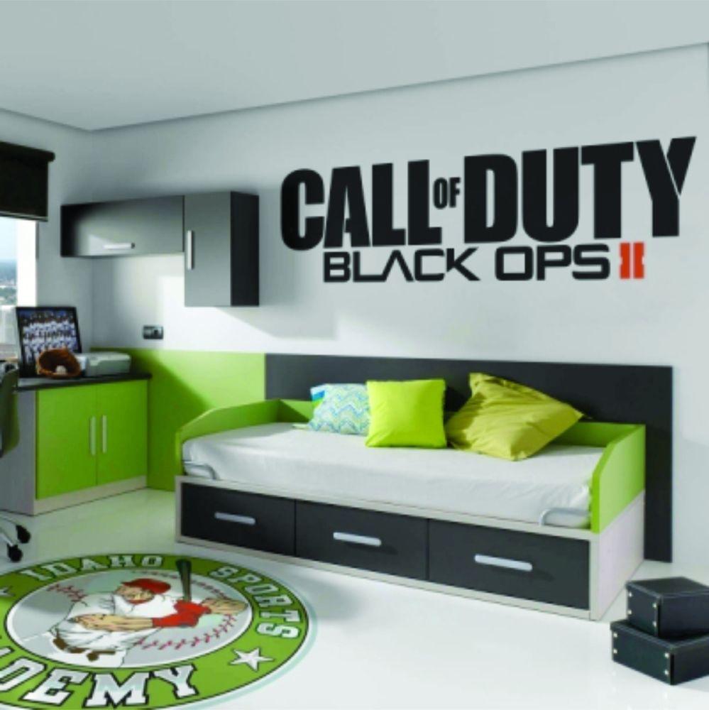 Call of Duty Black Ops 17 II Sticker Vinyl Decal Big - Brand New